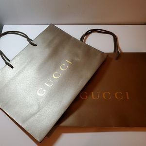 Authentic Gucci paper bags (Large) x 2